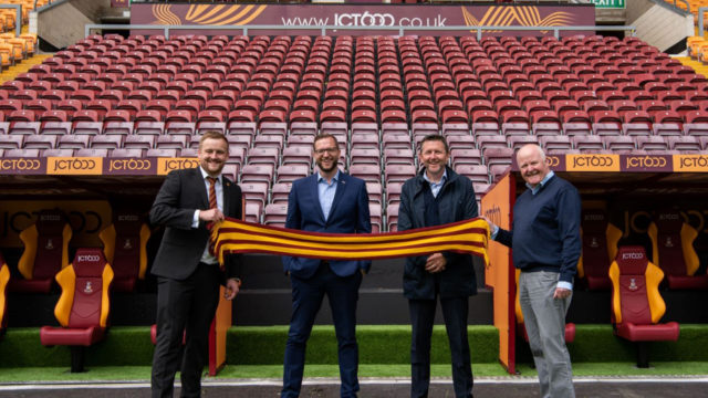 New Dugouts For Bradford City AFC
